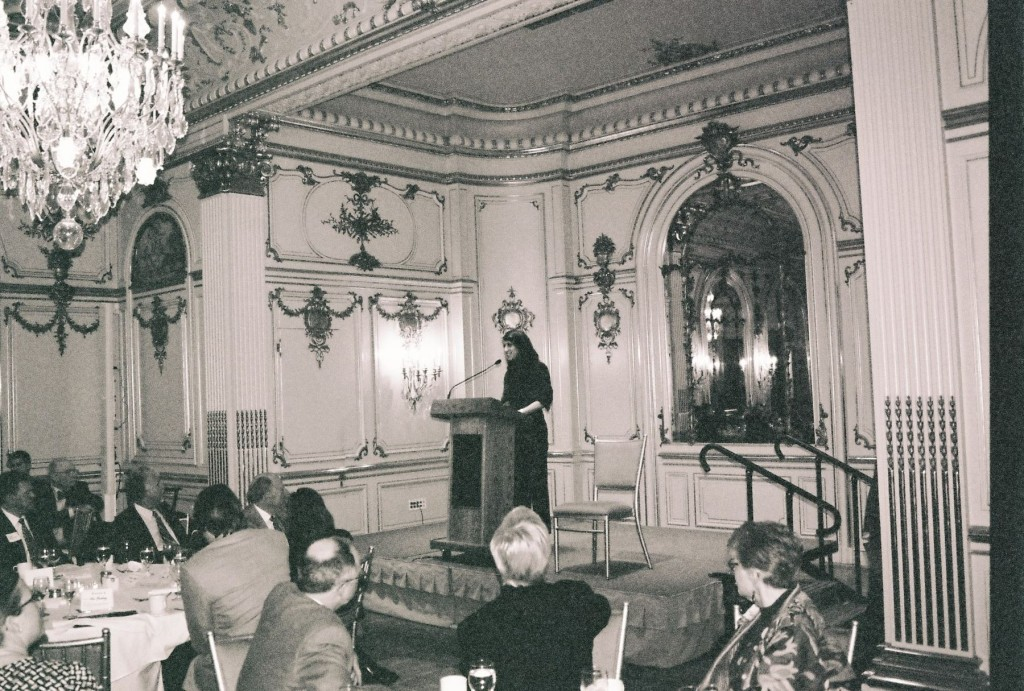 Zimberg Speaking at Washington D.C.'s Prestigous Cosmos Club in April 2013