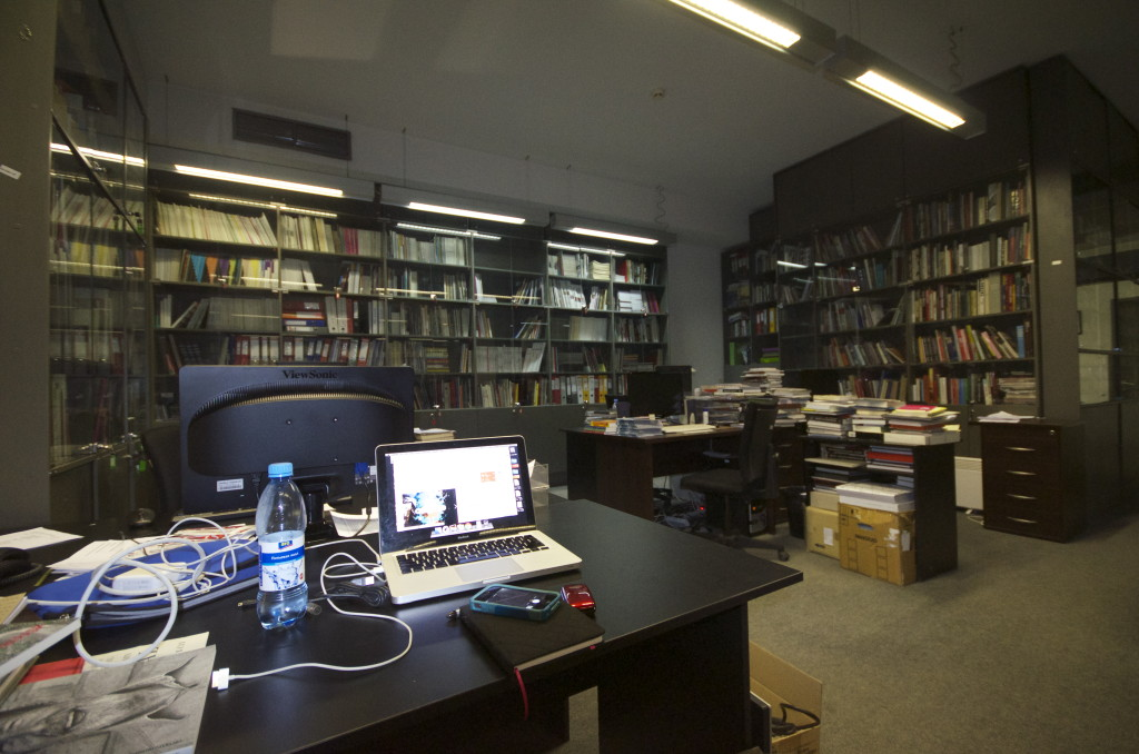 The NCCA Mediatheque. Moscow. Photograph: Alexis Zimberg. 2013.
