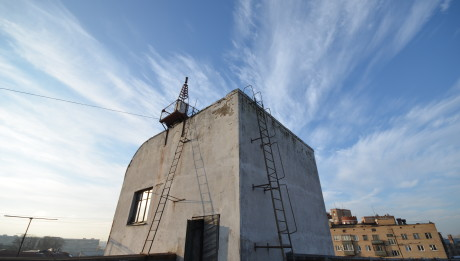 Rooftop of the House of Artists. Moscow. Photograph: Alexis Zimberg. 2013.
